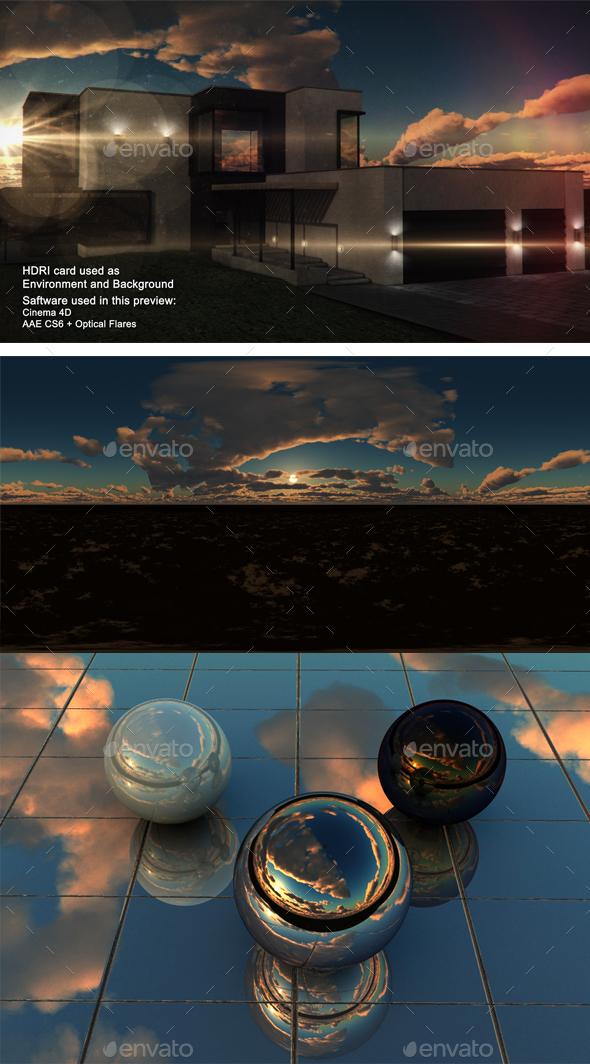 Sunset Desert 36 - 3DOcean Item for Sale
