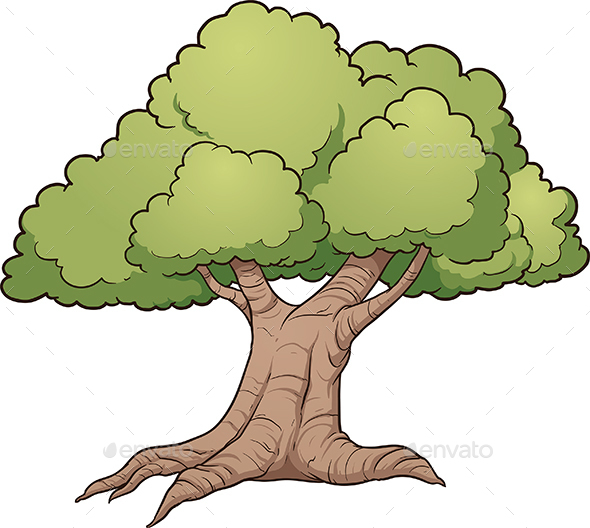 Cartoon Trees Images amp Stock Pictures Royalty Free