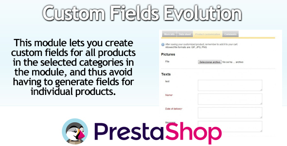 Massive PrestaShop Custom Fields - CodeCanyon Item for Sale