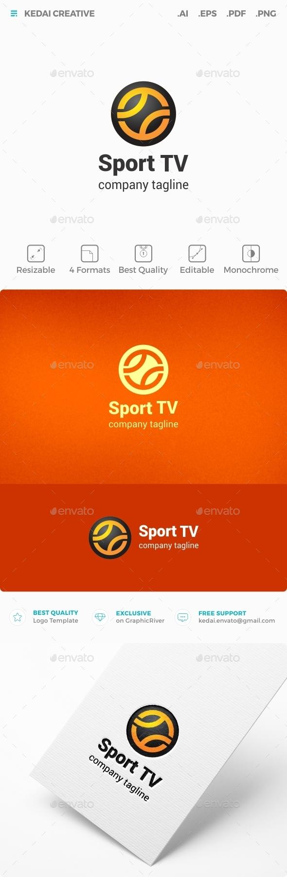 Sport TV - Symbols Logo Templates