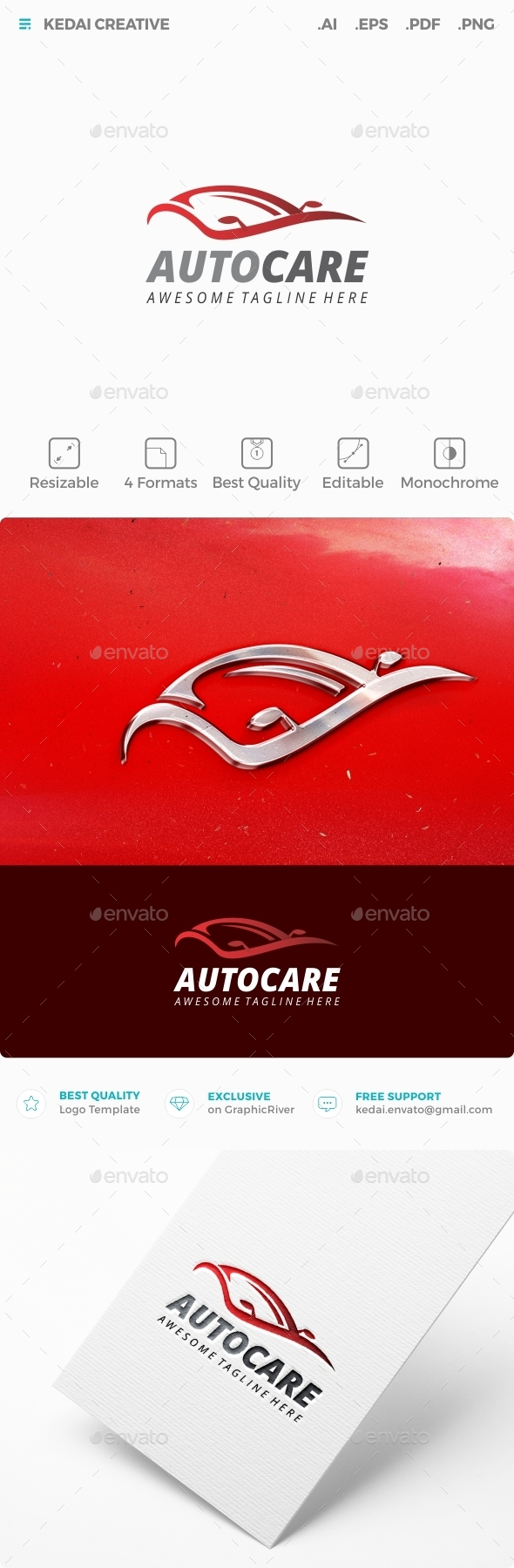 Autocare - Objects Logo Templates