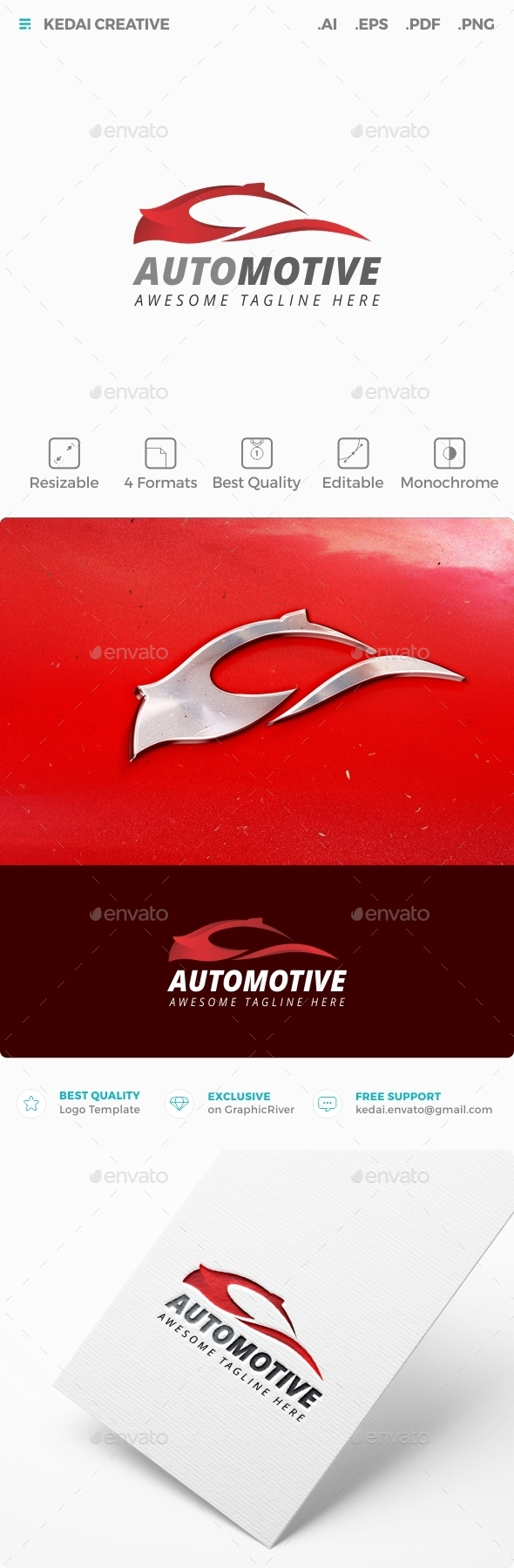 Automotive - Objects Logo Templates