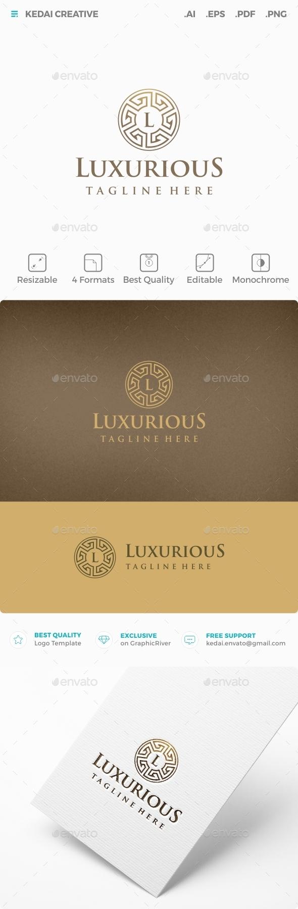 Luxurious - Symbols Logo Templates