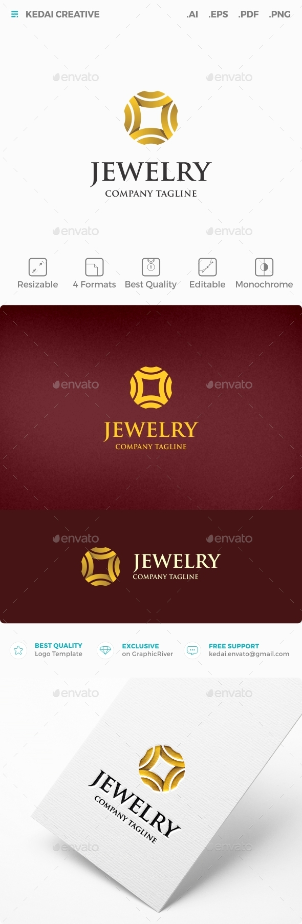 Jewelry - Symbols Logo Templates