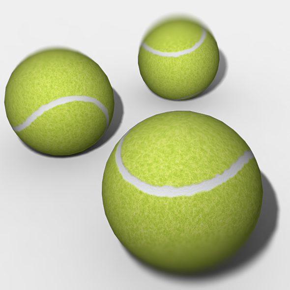 Tennis Ball 3d Model - 3DOcean Item for Sale