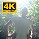 Young Male Jogger With Hands On Waist - VideoHive Item for Sale