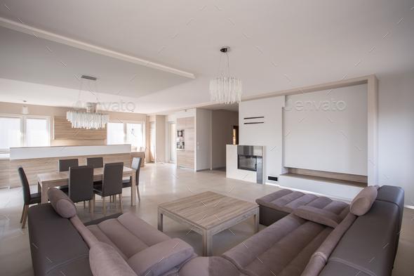 Luxury sitting room - Stock Photo - Images