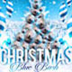 Christmas Blue Bash Party Flyer - GraphicRiver Item for Sale
