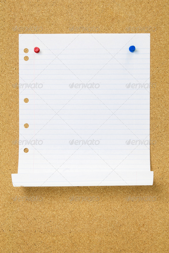 Blank Page - Stock Photo - Images
