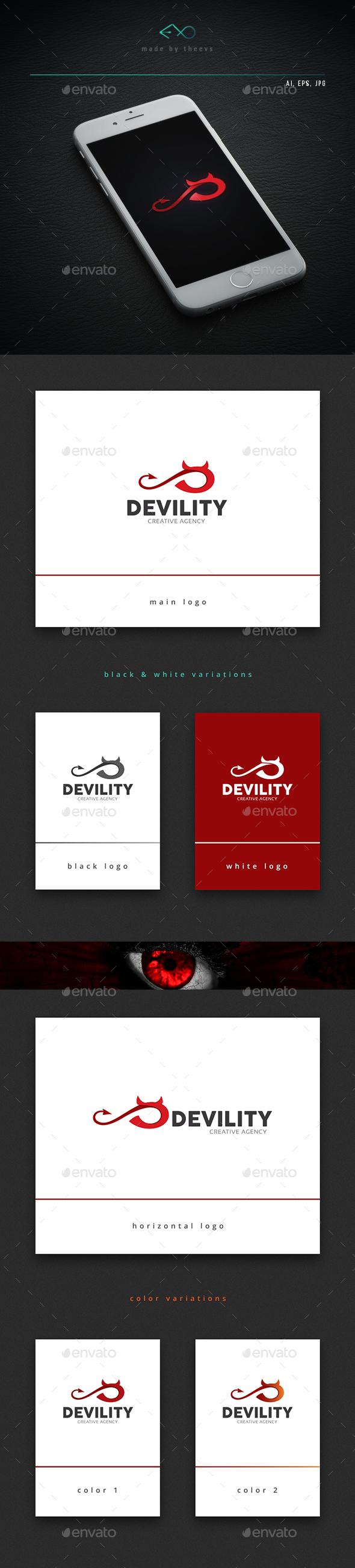 Devility - Letters Logo Templates