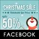 Christmas Sale Facebook Timeline Cover