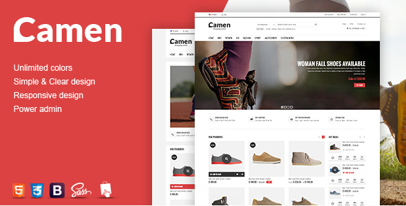 SNS Camen - Responsive Prestashop Theme - Shopping PrestaShop
