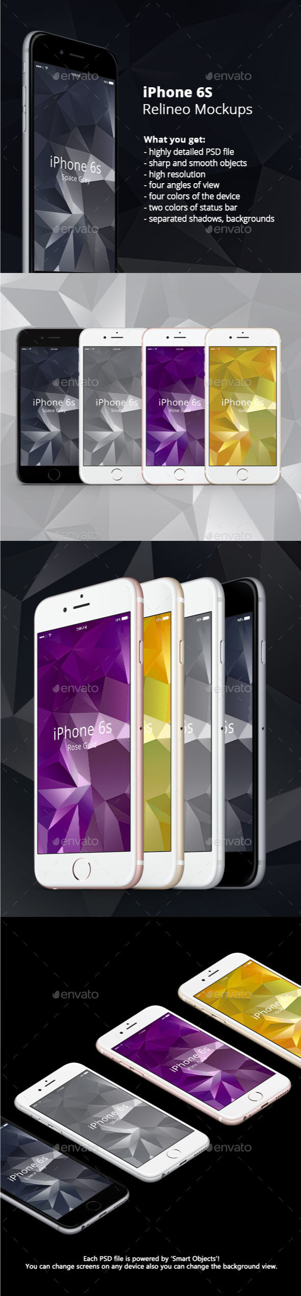 Apple iPhone Display Mock-up pack Vol.1 - Mobile Displays