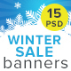 Winter Sale Banners - GraphicRiver Item for Sale