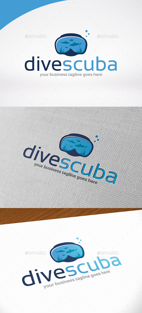 Scuba Logo Template - Objects Logo Templates