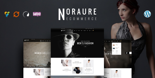 Noraure – WooCommerce Responsive WordPress Theme