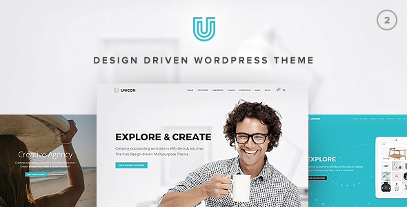 unicon design driven multipurpose theme by minti themeforest
