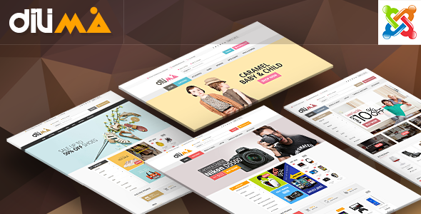 Vina Dilama – Multipurpose VirtueMart Template