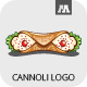 Cannoli  Logo - GraphicRiver Item for Sale