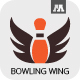 Bowling Wing Logo - GraphicRiver Item for Sale