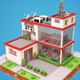 Low Poly Office - 3DOcean Item for Sale
