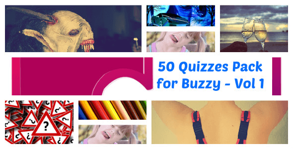 50 Quizzes Pack for Buzzy - Vol 1 - CodeCanyon Item for Sale