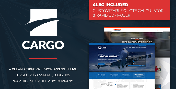 Cargo – Transport & Logistics Theme - Business Corporate