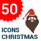 Flat Christmas Icons - GraphicRiver Item for Sale