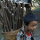 Poor Kid Carrying Firewood  - VideoHive Item for Sale