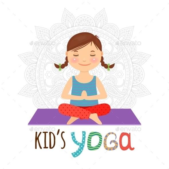 Kid Yoga  - Health/Medicine Conceptual