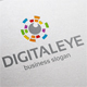 Digital Eye Logo - GraphicRiver Item for Sale