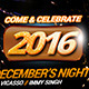 New Year Night Timeline - GraphicRiver Item for Sale