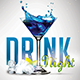 Drink Night - Flyer Template - GraphicRiver Item for Sale