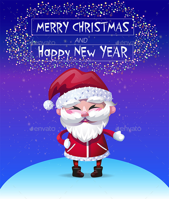 Christmas Card Vector Illustration - Christmas Seasons/Holidays