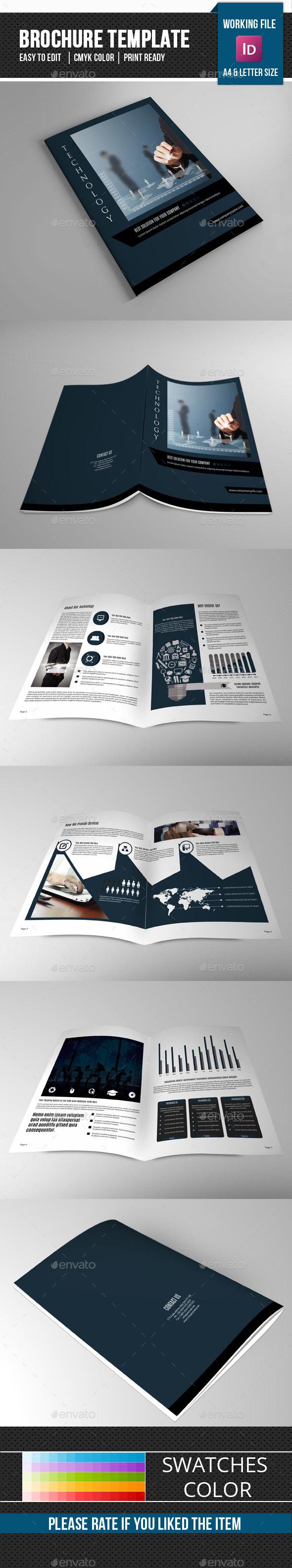 Technology Brochure Template-V323 - Corporate Brochures
