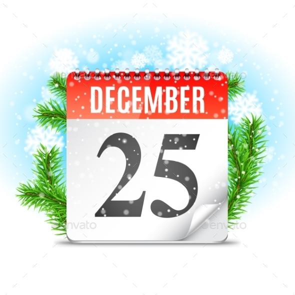 Christmas Day Calendar - Christmas Seasons/Holidays