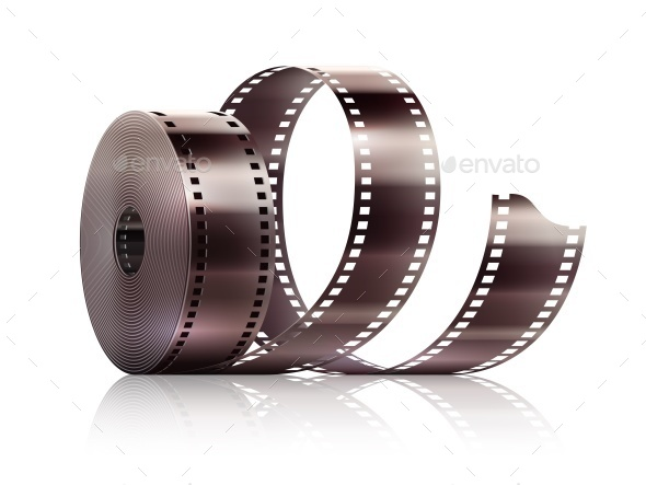 Cinematography Movie Video Film Tape Isolated - Man-made Objects Objects