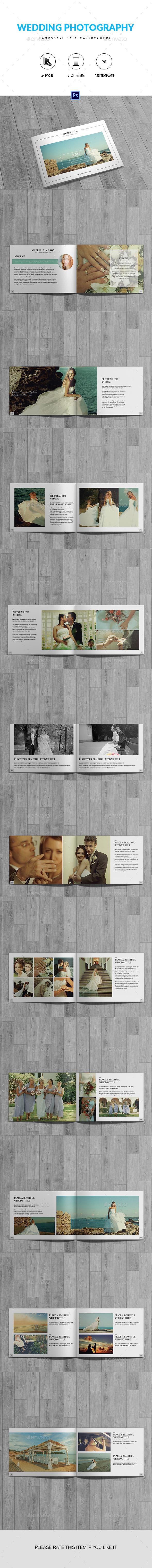 Wedding Photography Catalog/Brochure - Catalogs Brochures