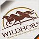 Wild Horses Logo - GraphicRiver Item for Sale