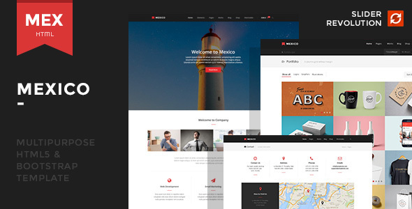 Mexico - Responsive Multipurpose Template