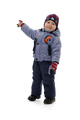 three-year boy in winter clothes - PhotoDune Item for Sale