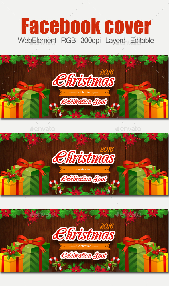 Christmas Timeline - Facebook Timeline Covers Social Media