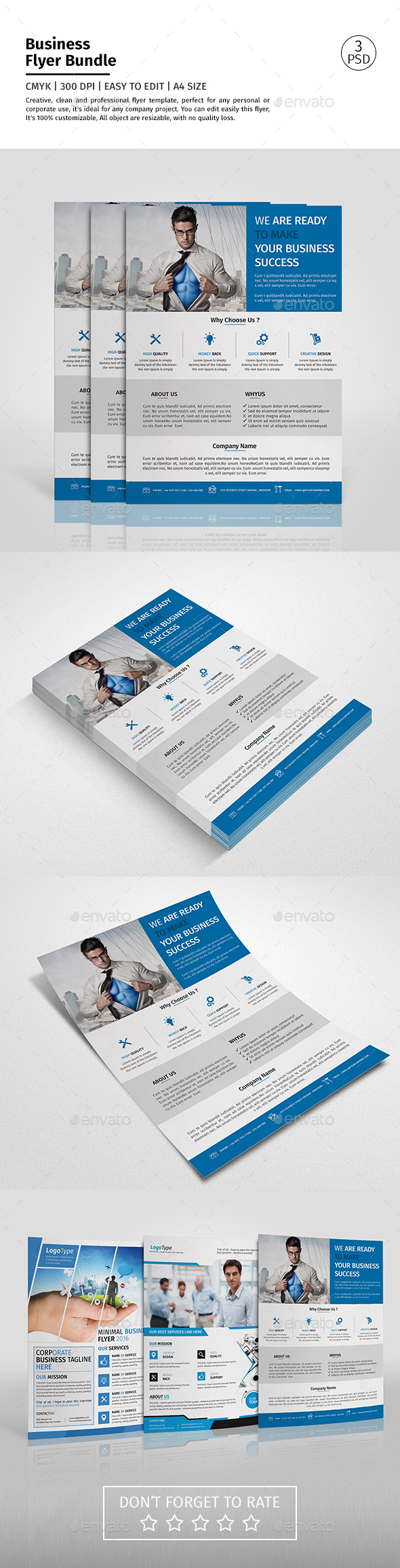 Corporate Flyer Bundle 02 - Corporate Flyers