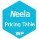 Neela - Responsive WordPress Pricing Table - CodeCanyon Item for Sale