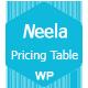 Neela - Responsive WordPress Pricing Table