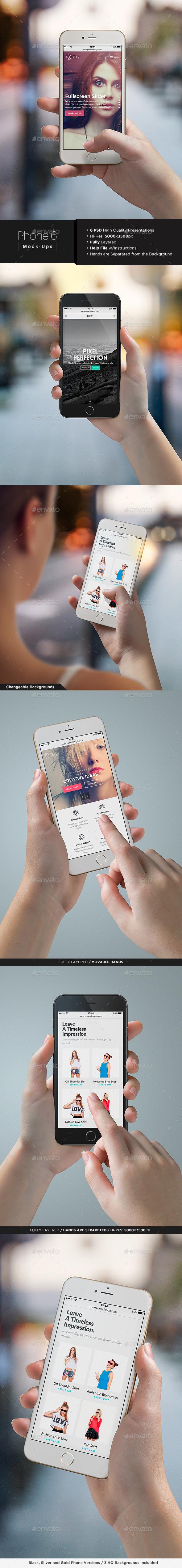 Phone 6 Mock-Up - Mobile Displays