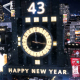 New Year Countdown Clock 2017 - The City - VideoHive Item for Sale