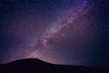 Night Sky with Stars and Galaxy - PhotoDune Item for Sale