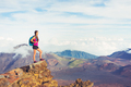 Woman hiker in the mountains enjoying the outdoors - PhotoDune Item for Sale