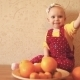 Child With Oranges And Tangerines - VideoHive Item for Sale